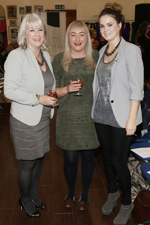 Kate McLoughlin, Colette O'Boyle and Kirsten McLoughlin