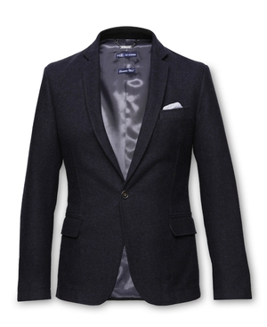 Navy blazer from H.E. By Mango €49.99, available at Arnotts Department Store, Dublin