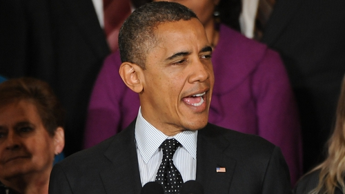 Barack Obama is said to have given a favourable impression over the change