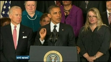 Obama makes statement about fiscal cliff