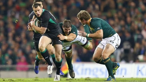 Tommy Bowe attacked the line but Ireland lacked cutting edge throughout