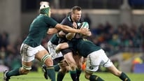 Donal Lenihan and Ryle Nugent give their reaction to South Africa's four point win