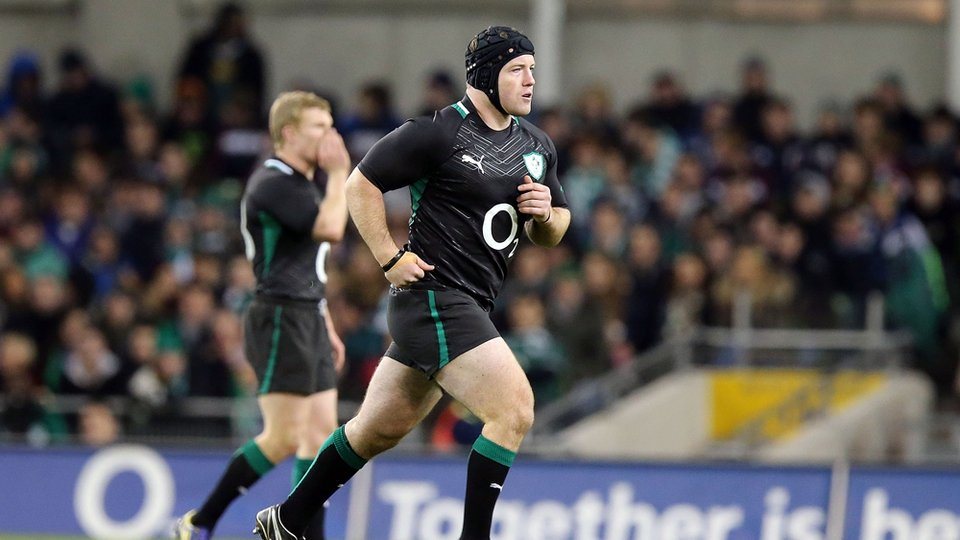New Zealander Michael Bent may have felt at home in Ireland's new black strip