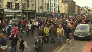 12,000 people protested in Waterford last weekend