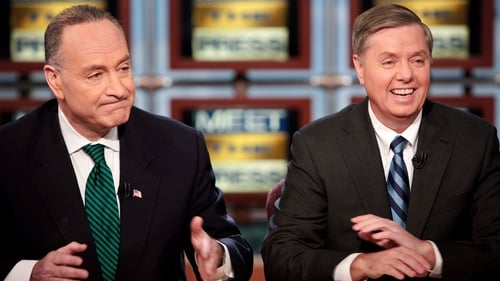Charles Schumer, left, and Lindsey Graham are to resume talks