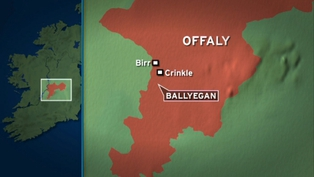 The plane went down in an area known as Ballyegan