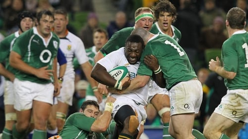 Tendai Mtawarira played for South Africa against Ireland in 2010, but missed Saturday's clash due to heart palpitations