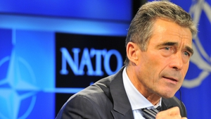 Anders Fogh Rasmussen was speaking at a NATO assembly meeting in Prague