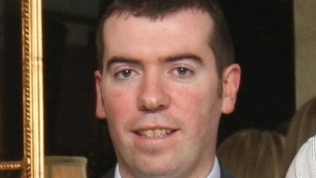Trainee pilot Damien Deegan died in yesterday's crash