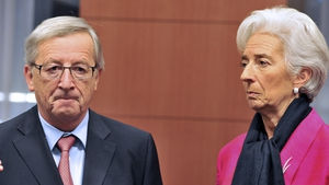 Jean-Claude Juncker clashed publicly with Christine Lagarde
