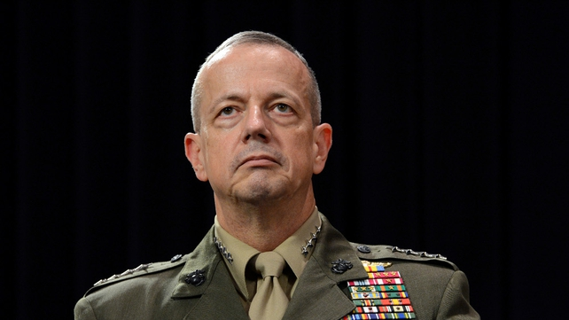 General John Allen is being investigated over alleged inappropriate communication