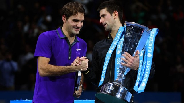 Djokovic denied Federer a third ATP title in a row