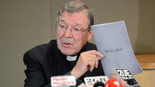 Cardinal George Pell believes the problem of sexual abuse in his church has been 'exaggerated'