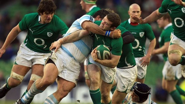 It will be a physical encounter as usual when Ireland and Argentina go head to head on Saturday