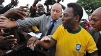 Eamon Dunphy looks at the talents of the legendary Pele