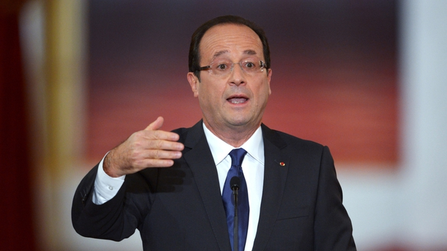 Francois Hollande is open to the idea of arming the Syrian opposition