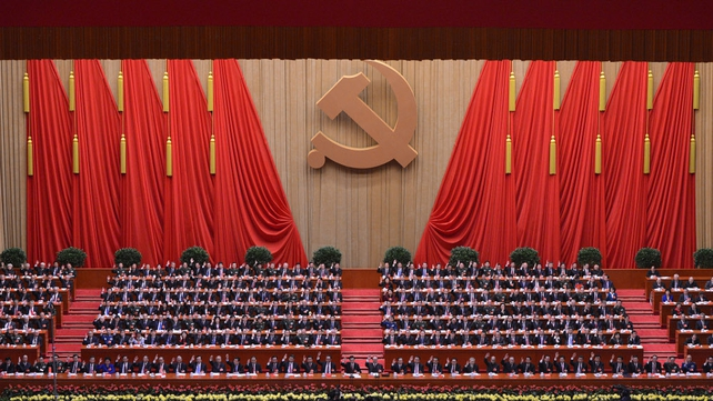 More than 2,200 Communist delegates gathered for the Congress