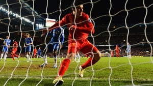 Luis Suarez scores a late equaliser for Liverpool against Chelsea at Stamford Bridge