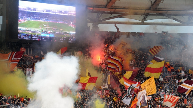 Roma fans ignored warnings about racist chanting and as a result the Curva Sud will close for a game