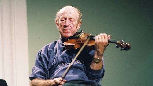 Martin Fay on stage in the RDS in 1995