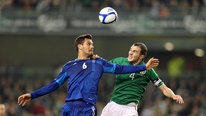 John O'Shea gives his reaction to RTÉ's Tony O'Donoghue
