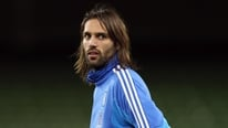 Greek captain Georgios Samaras gives his reaction to Adrian Eames