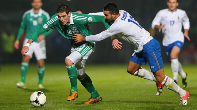 Kyle Lafferty was the last Northern Ireland player to score in a friendly away from home