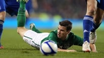 Seamus Coleman gives his reaction to RTÉ's Tony O'Donoghue