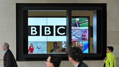 The BBC has agreed a settlement package with Robert McAlpine