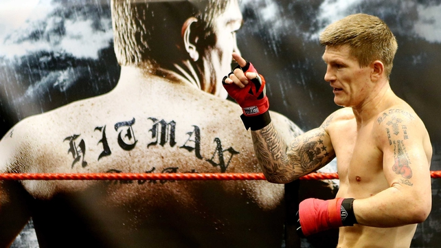 Ricky Hatton is confident fighting at welterweight again