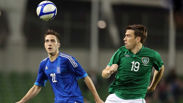 Seamus Coleman impressed in Ireland's 1-0 defeat against Greece
