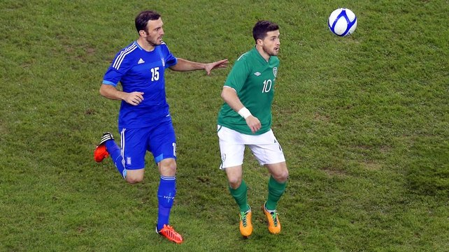 Shane Long is determined to force his way into the starting Irish eleven on a regular basis