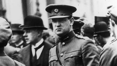 Michael Collins was the Irish Volunteers' director of intelligence in early 1919, the year the War of Independence began