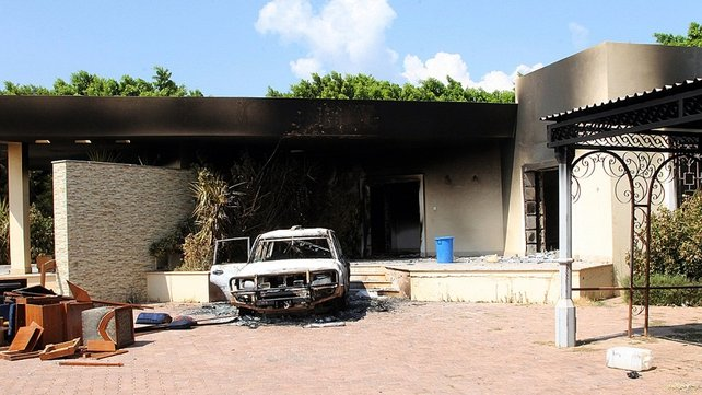 The US ambassador and three other Americans died in the Benghazi attack