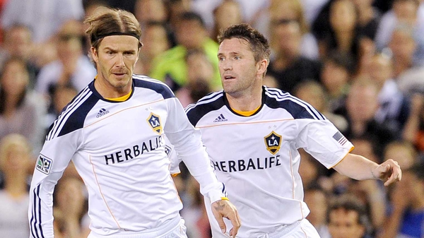 David Beckham is leaving Los Angeles after five seasons with the Galaxy