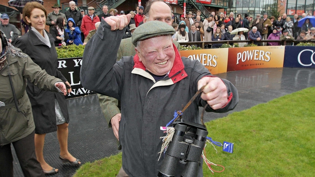 Peter Casey had much to be happy about after Flemenstar's successful return to action in the Fortria