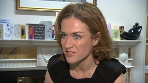 Dr Rhona Mahony said she accepts there was a delay in giving blood to a woman