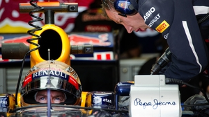 Vettel has his sights set on clinching the world title this weekend