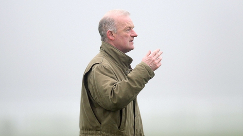 Willie Mullins' had a winner with two-year-old Levanto at Dundalk