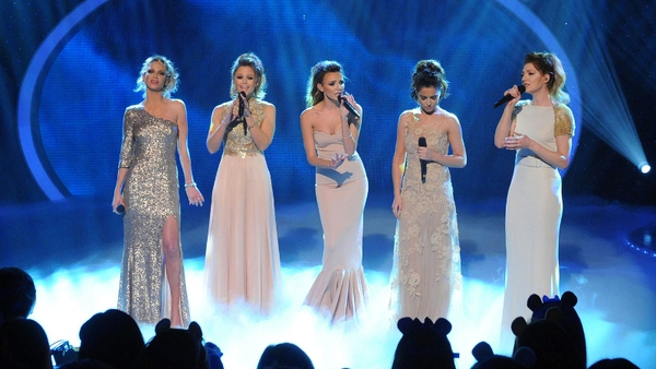 Girls Aloud return to the stage