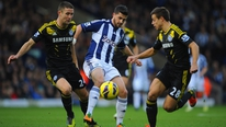 Clive Edwards reports on WBA's win over Chelsea, where Shane Long scored and was Man of the Match
