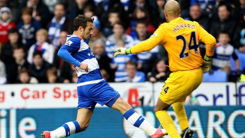 Adam Le Fondre's brace secured a first league win for Reading this season