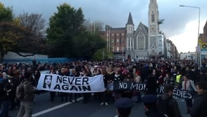 Rallies were held in Dublin and Galway