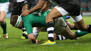 And Fergus McFadden soon added another five-pointer for the home side