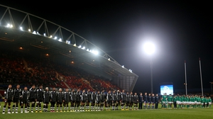 The teams observed a minute's silence for former Fiji player Maleli Kunavore, 29, who died during the week