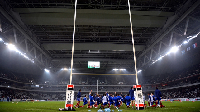 France and Argentina met at Lille-Grand-Stade in Saturday's last clash