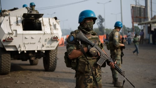 UN expressed concern that the M23 rebels are well-armed and supplied