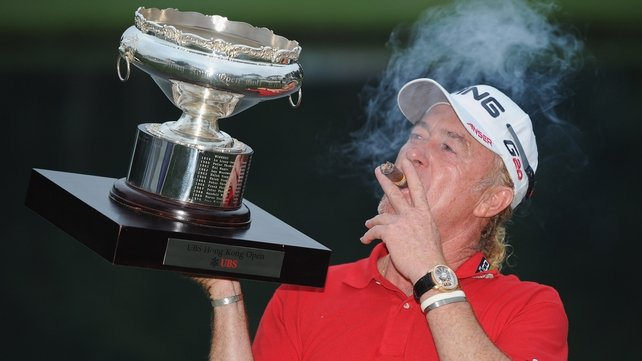 """Miguel Angel Jimenez: """"It's always an honour to make records and I hope it's not the last one."""""""