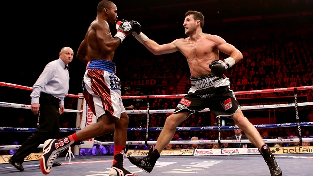 Carl Froch proved too strong for American challenger Yusaf Mack