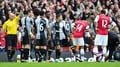 Adebayor apologises for red card at Arsenal